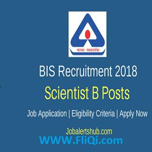 BIS Recruitment 2018-155 Various Posts