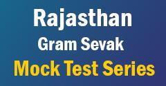 Rajasthan Gram Sevak Mock Test Series