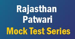 Rajasthan Patwari Mock Test Series