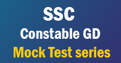 SSC Constable GD Mock Test series