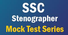 SSC Stenographer Mock Test series